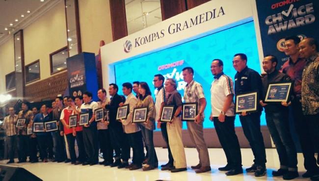 Para Pemenang Otomotif Choice Award 2015