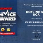Piagam Otomotif Choice Award