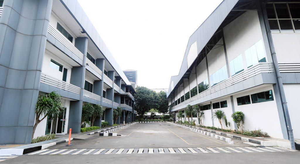 Gedung baru belakang